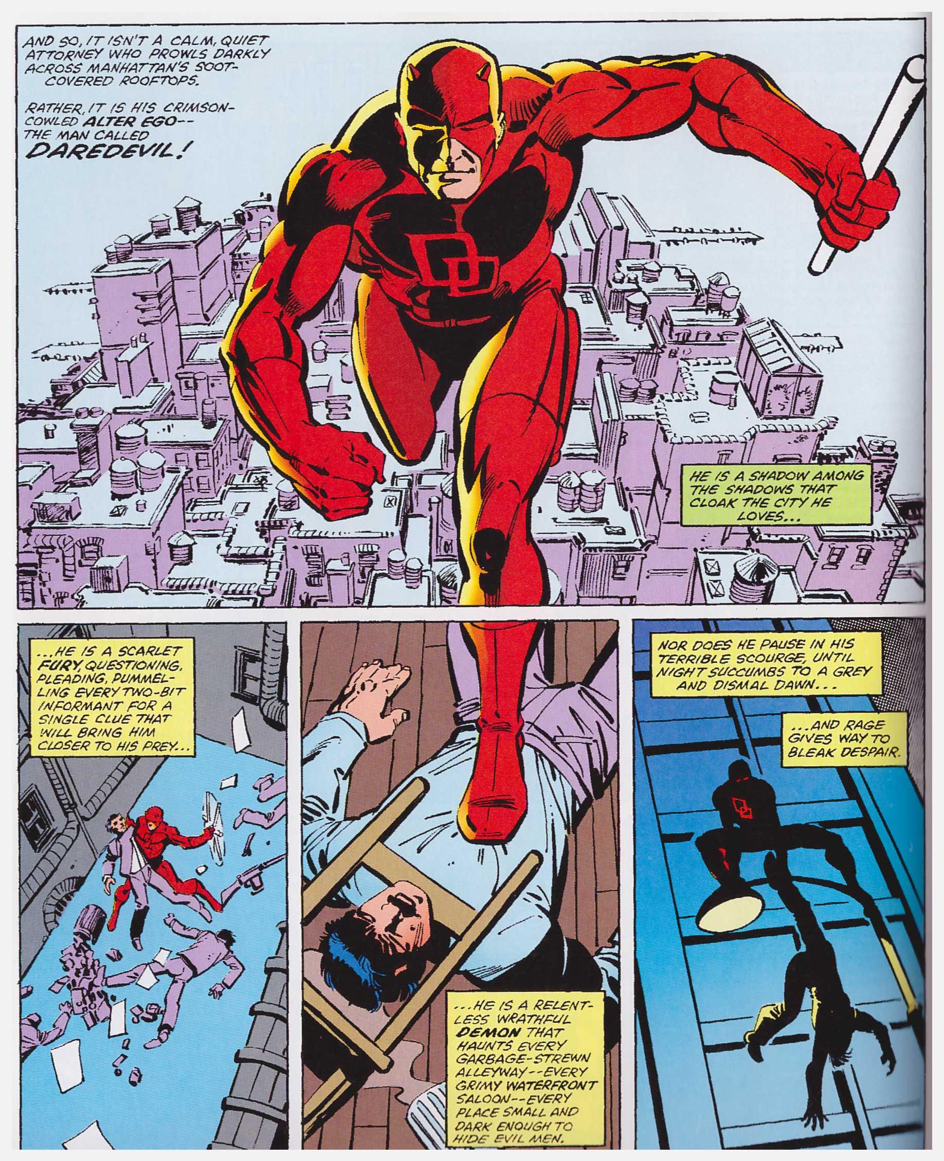 Daredevil by Frank Miller & Klaus Janson volume 2 review
