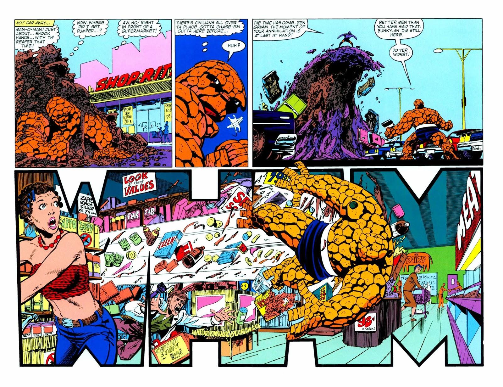 Fantastic Four Visionaries John Byrne vol 4 review