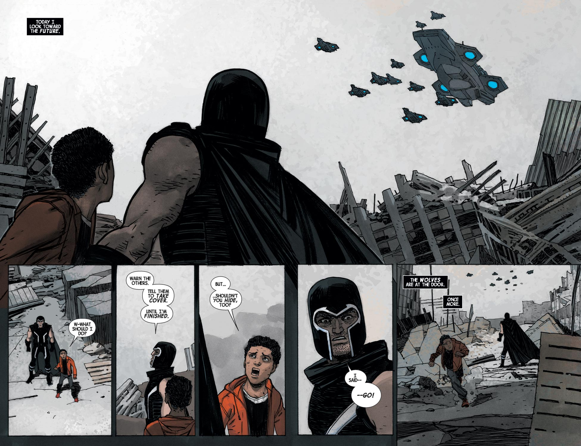 Magneto Shadow Games review
