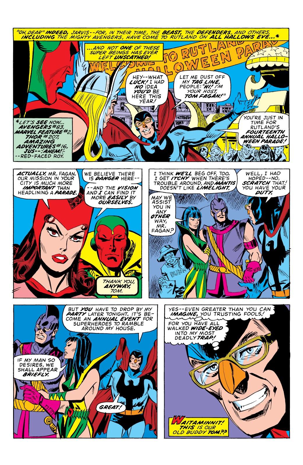 Marvel Masterworks Avengers Vol 12 review