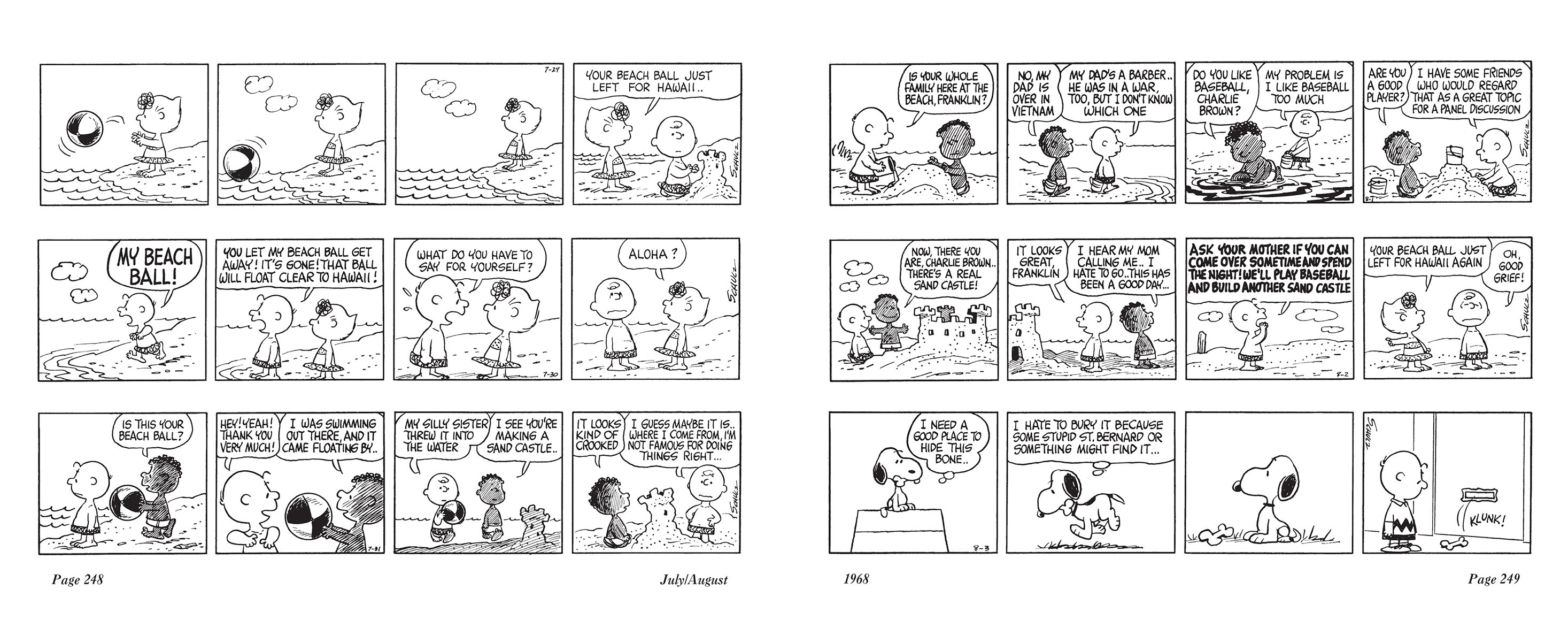 Complete Peanuts 1967 review