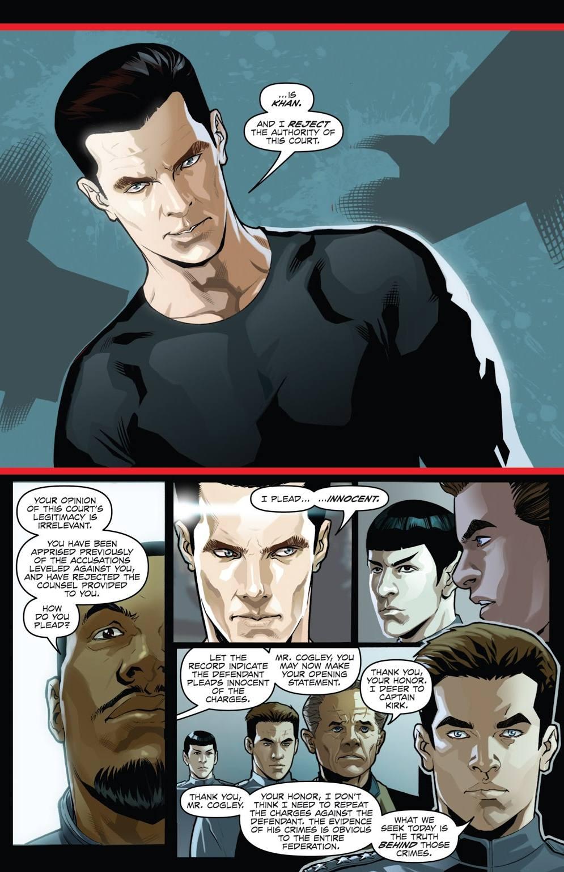 Star Trek Khan graphic novel review