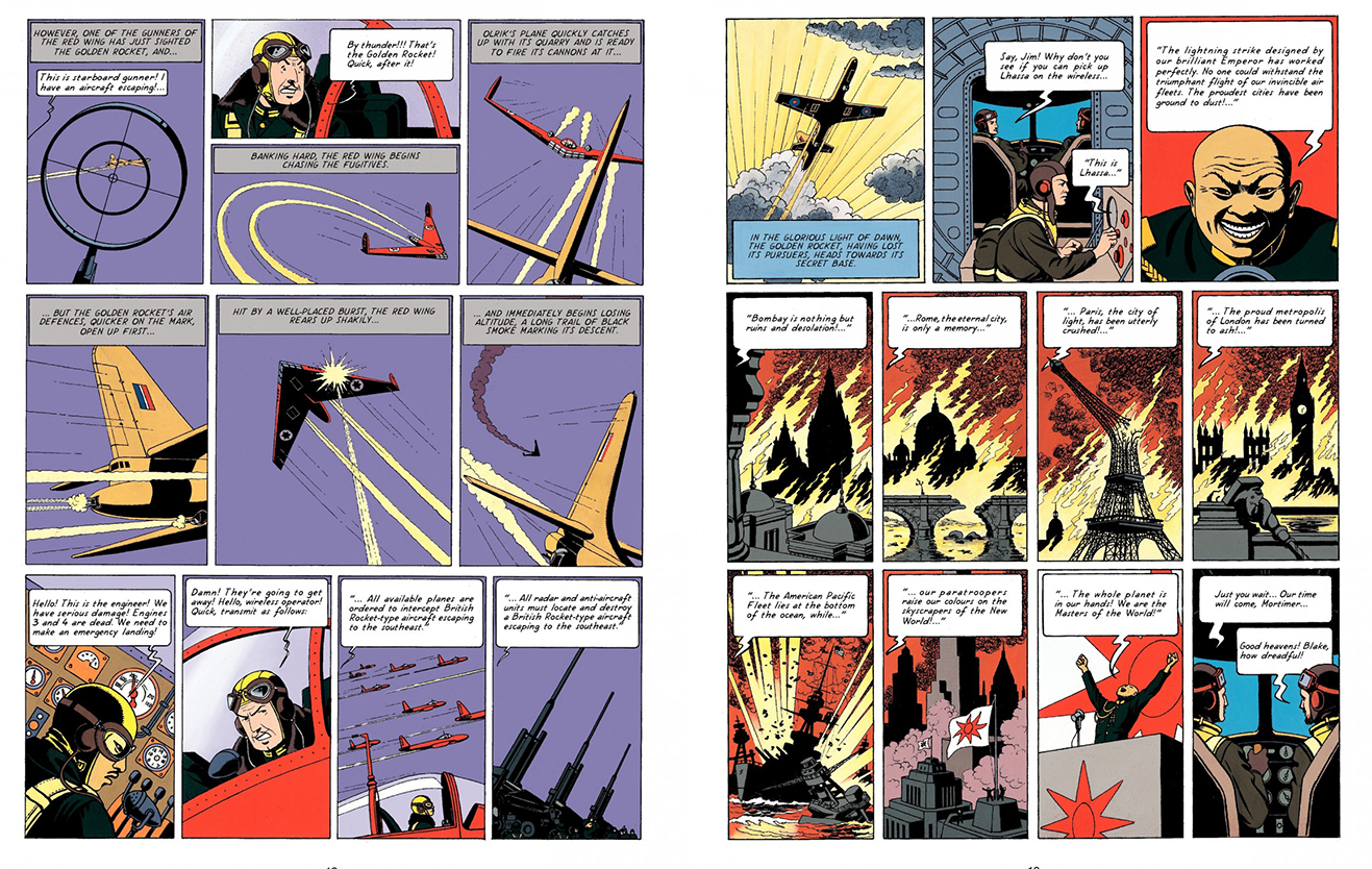 Blake and Mortimer The Secret of the Swordfish Pt 1 review