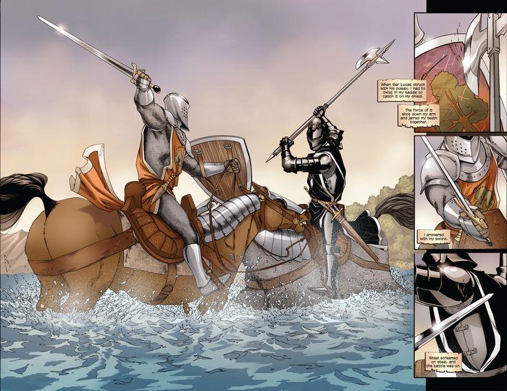 The Sworn Sword Graphic Novel review