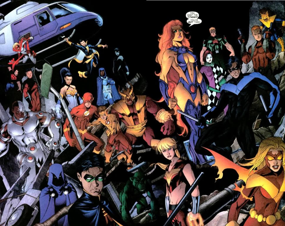 Teen Titans The Future is Now review