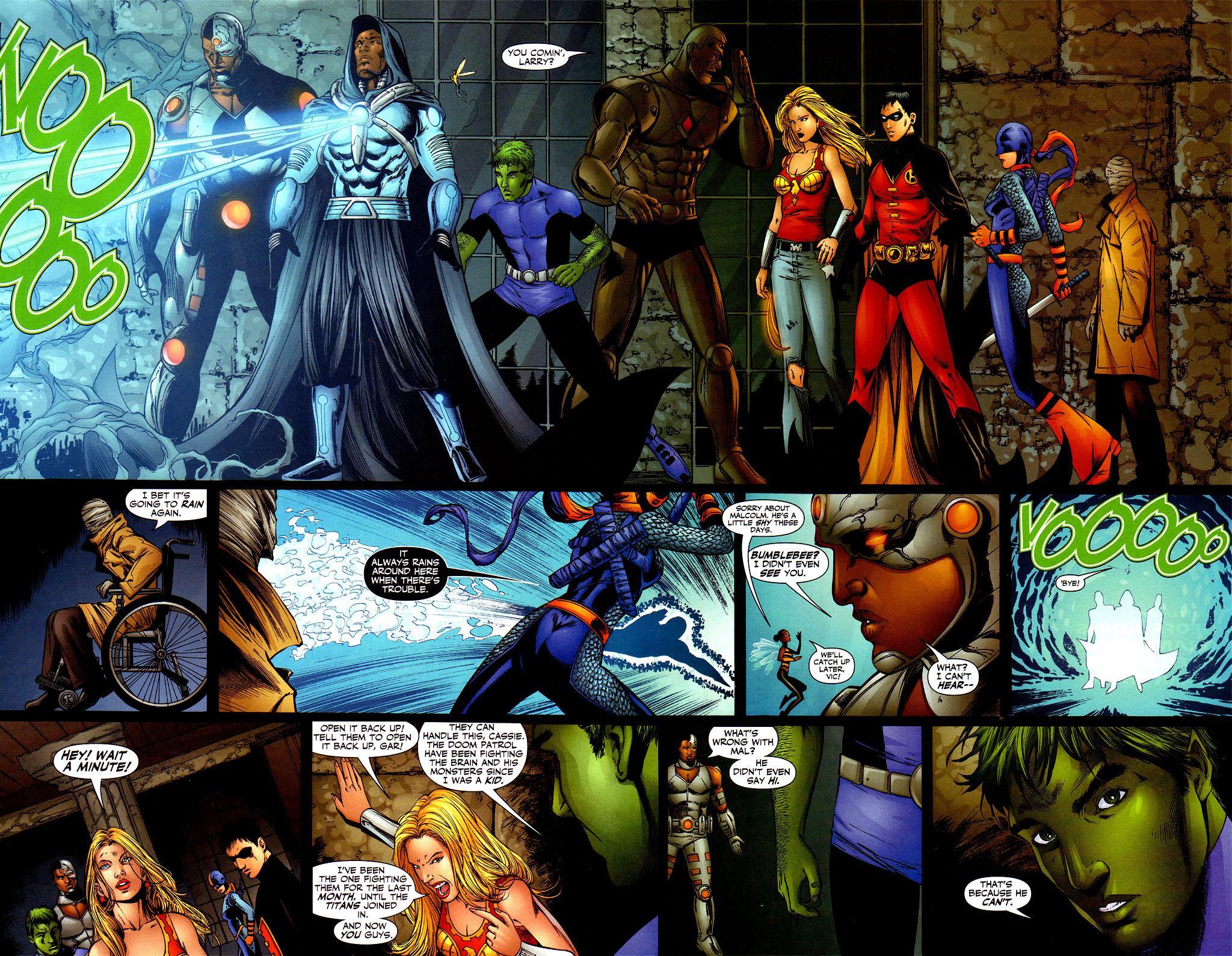 Teen Titans Titans around the World review