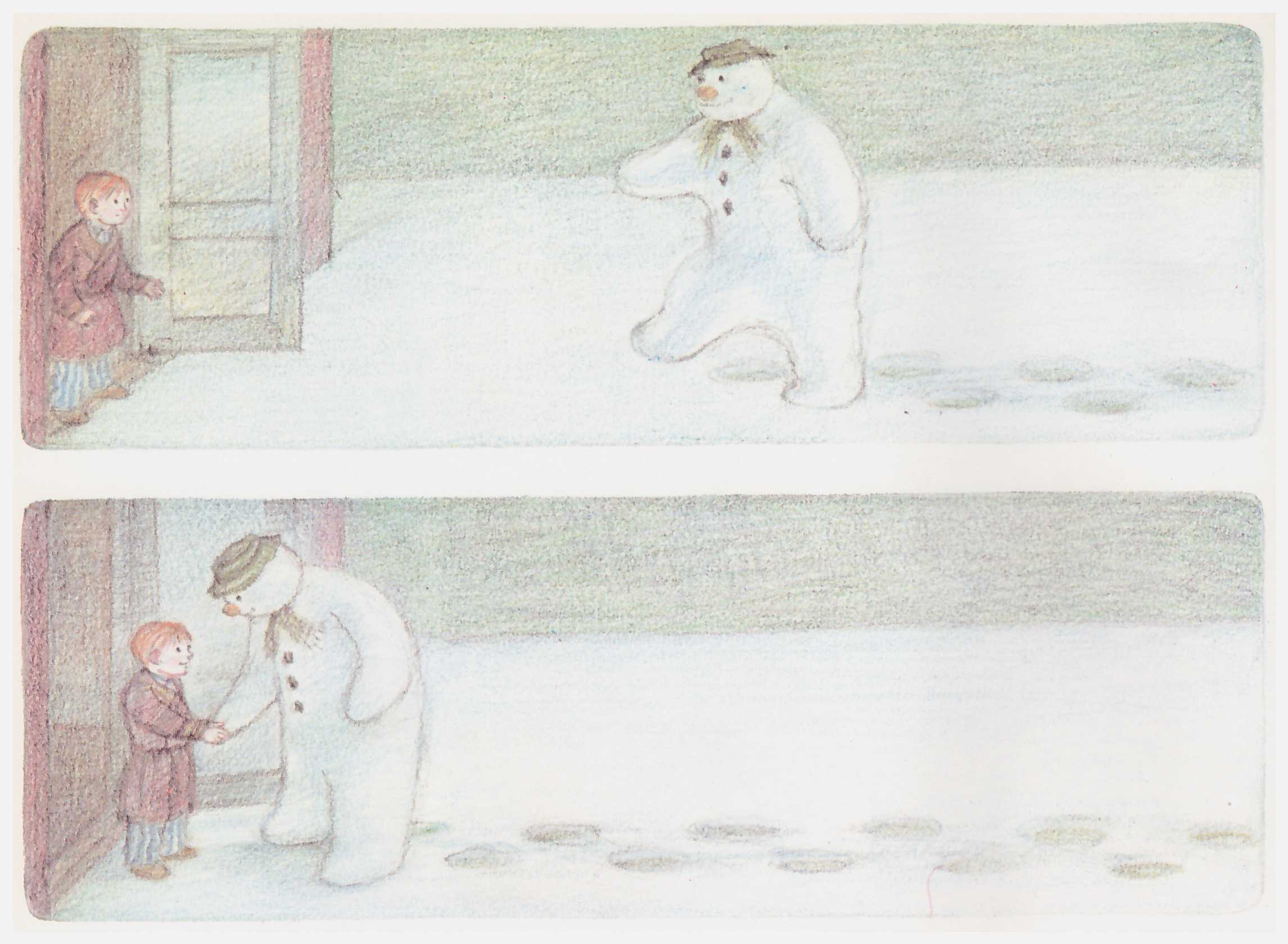 The Snowman Raymond Briggs review