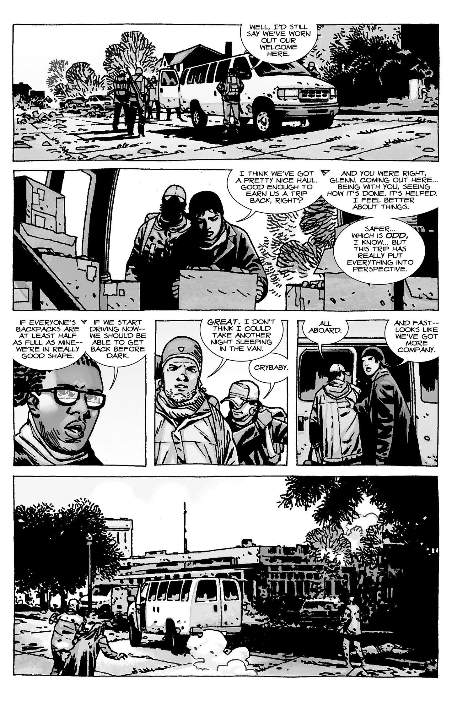 The Walking Dead 16 A Larger World review