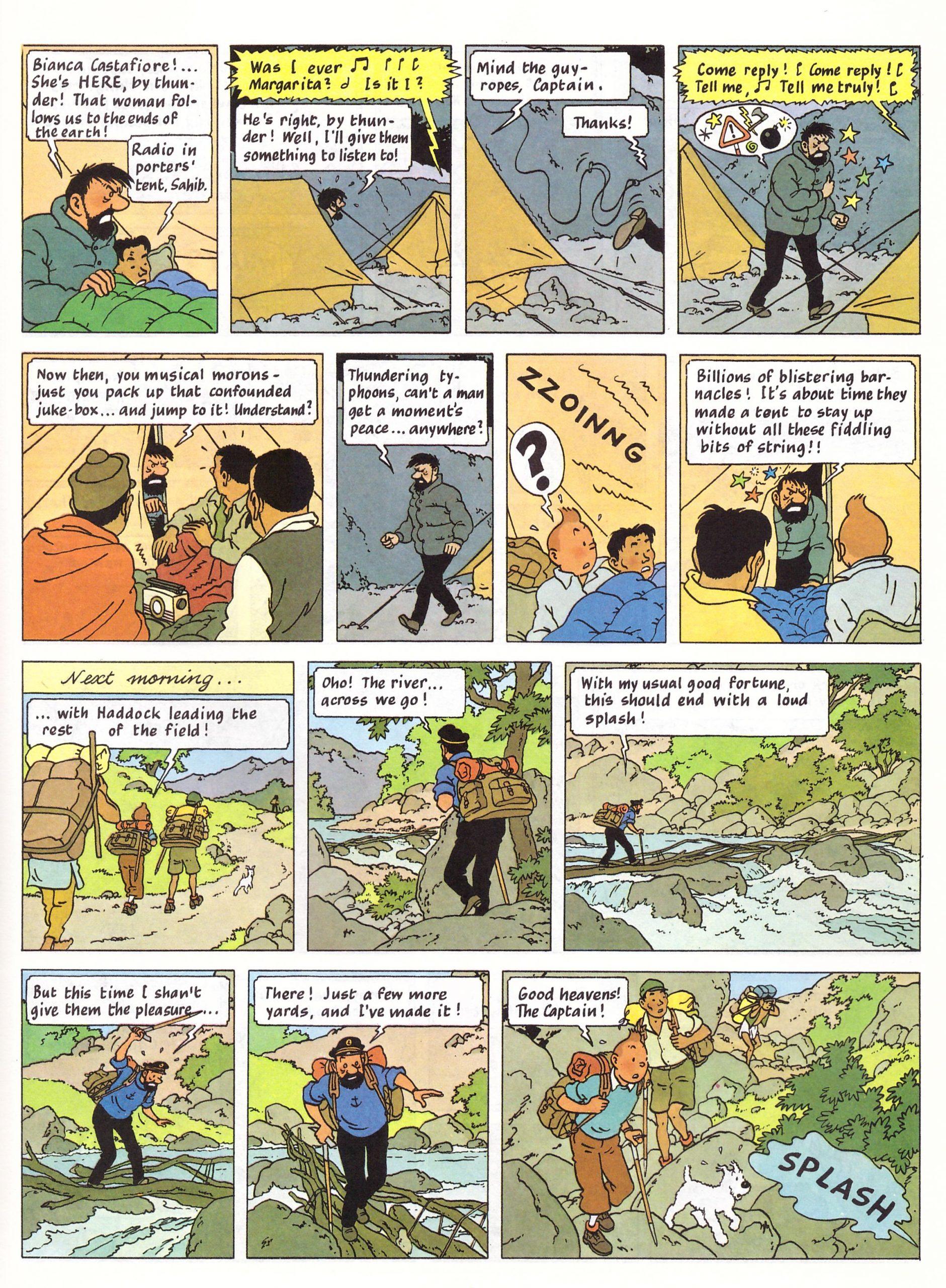 Tintin in Tibet review