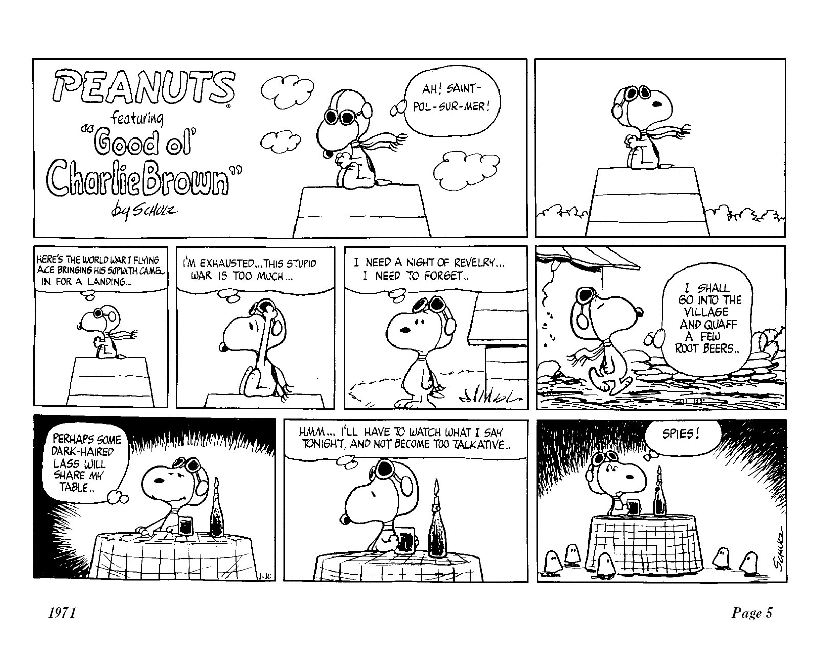 Complete Peanuts 1971 review