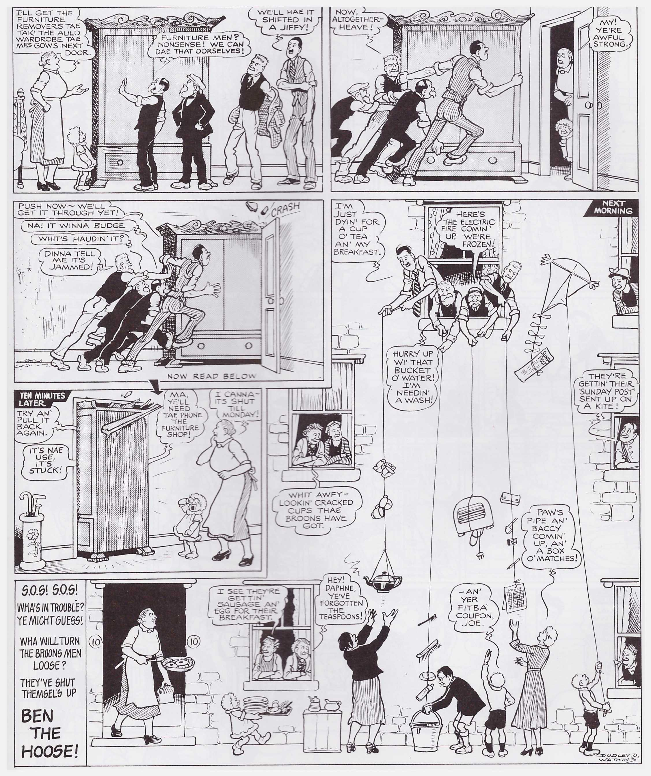 The Broons and Oor Wullie Fabulous Fifties review