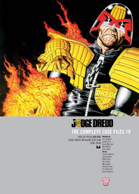 Judge Dredd: The Complete Case Files 19