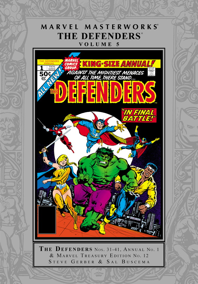 Marvel Masterworks: Defenders Volume 5
