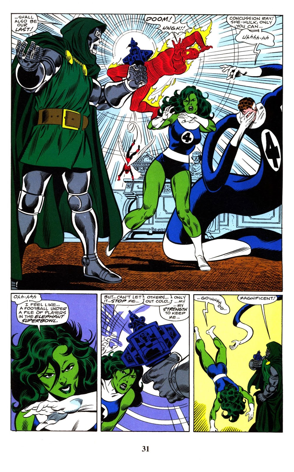 Fantastic Four Visionaries Byrne vol 8 review
