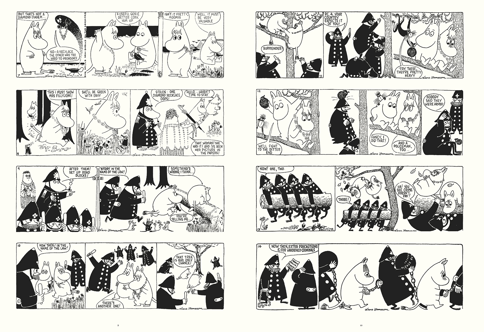Moomin The Complete Lars Jansson Book 6 review