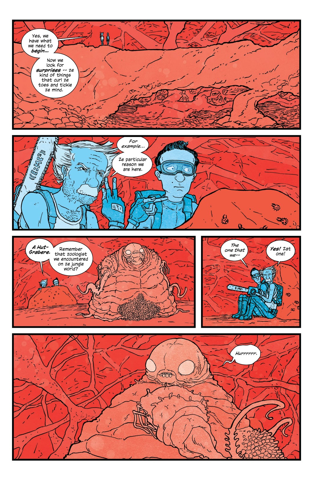 Manhattan Projects Vol 4 review