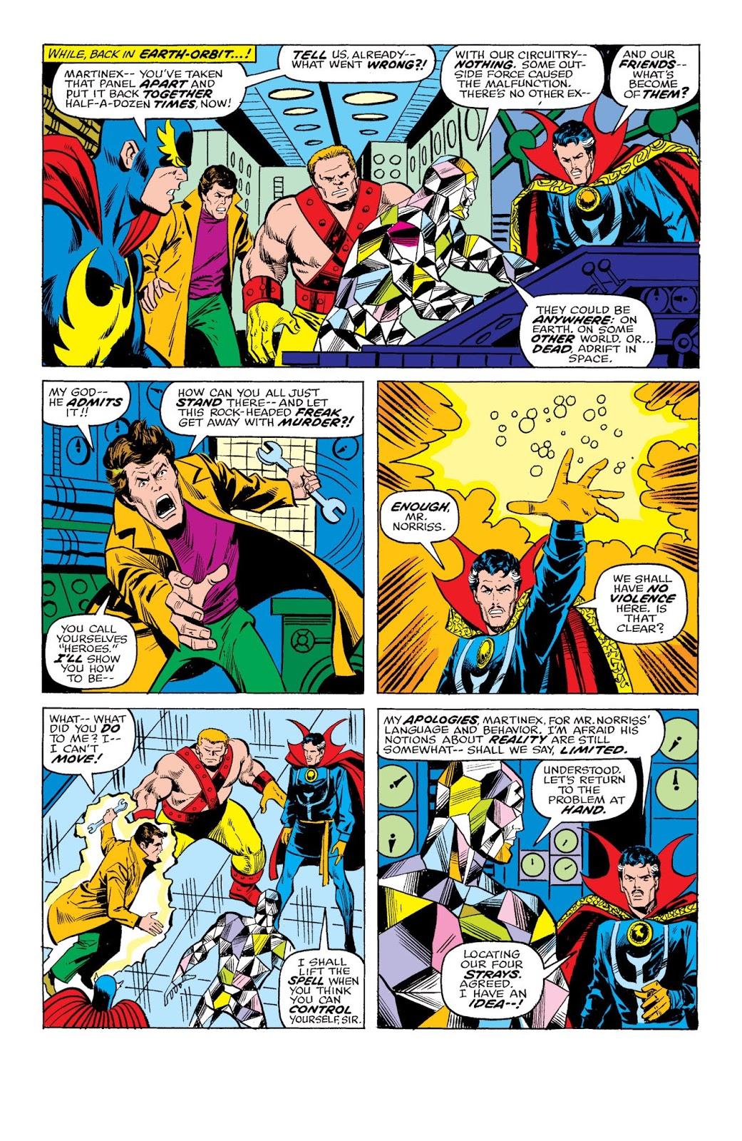 Marvel Masterworks The Defenders vol 4 review