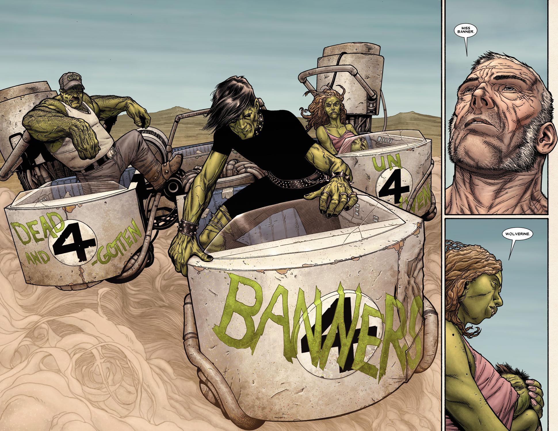 Wolverine Old Man Logan review