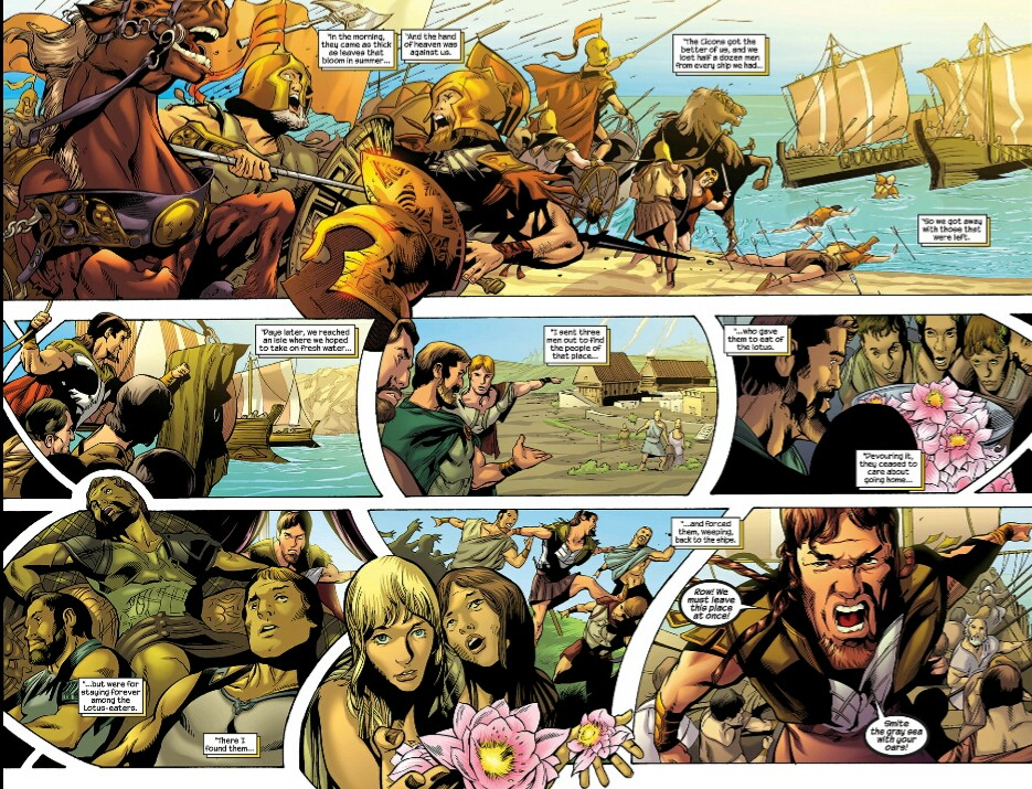 The Odyssey Graphic novel review