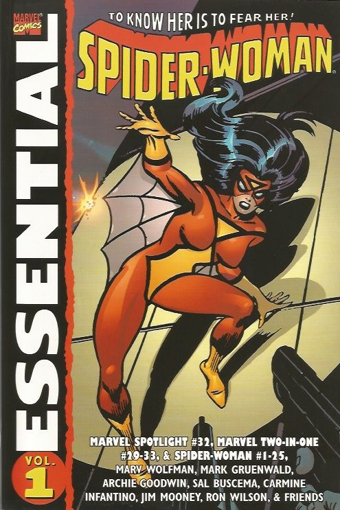Essential Spider-Woman Volume 1