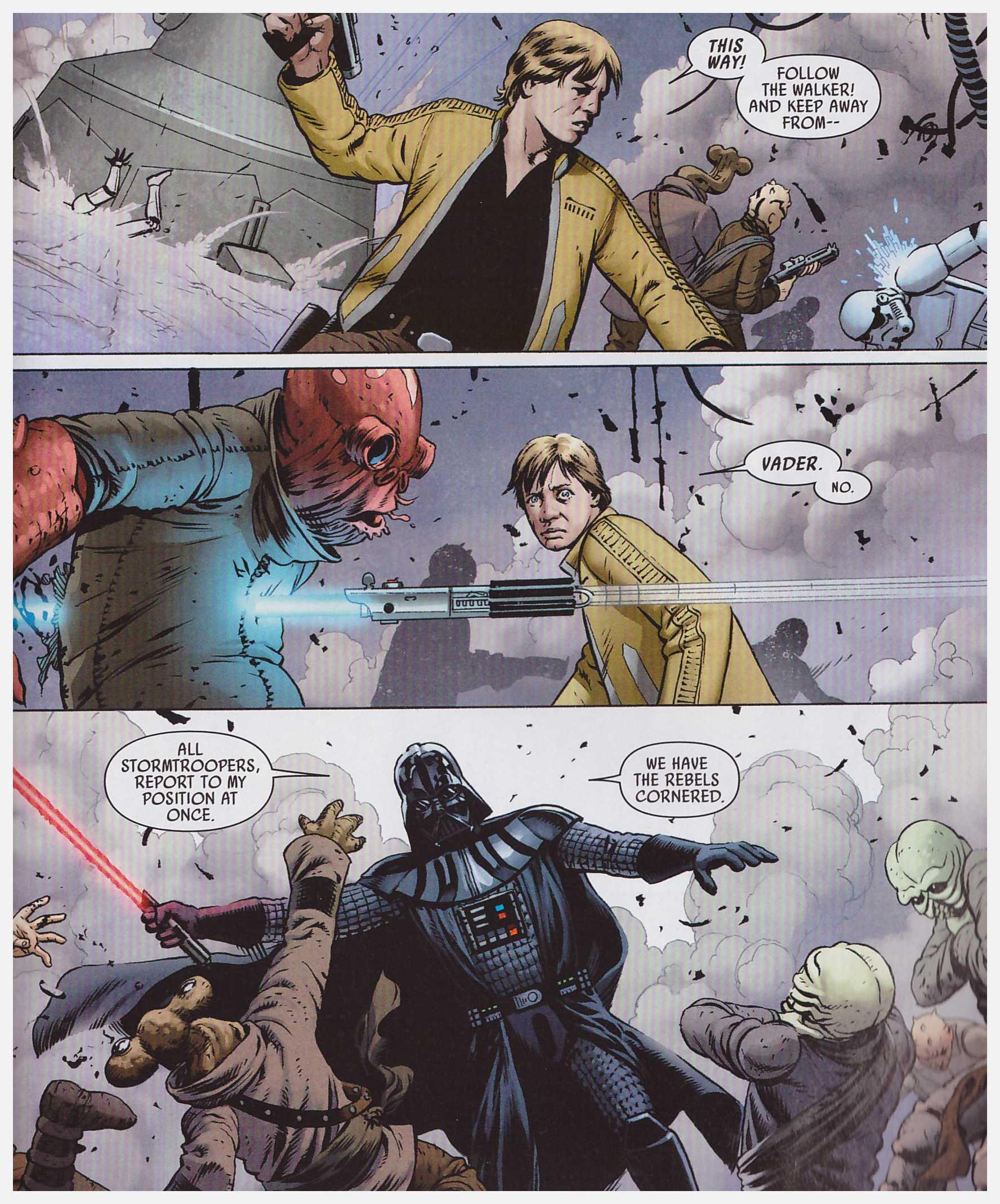 Star Wars Skywalker Strikes review