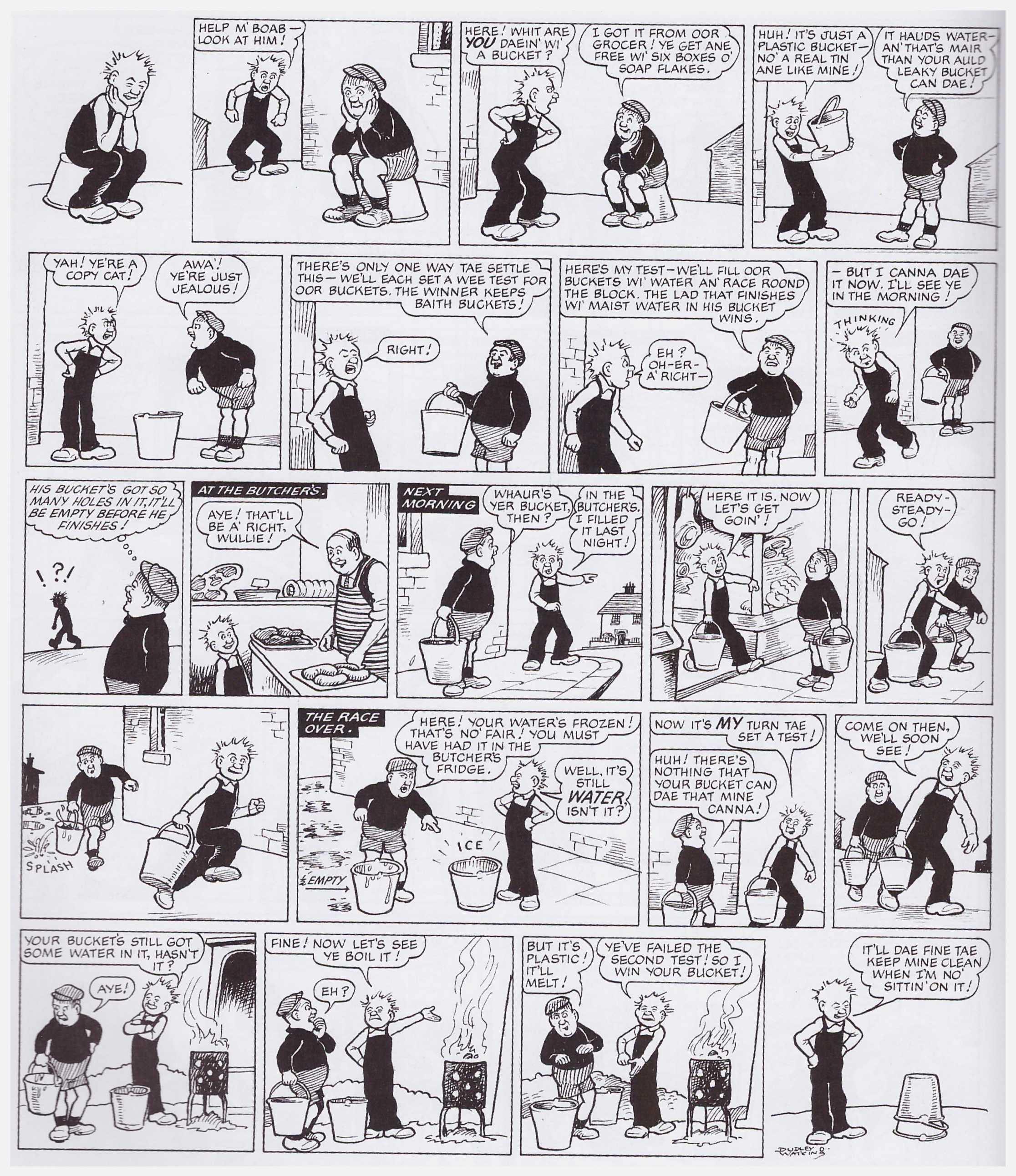 Broons and Oour Wullie the 1960s Revisited review