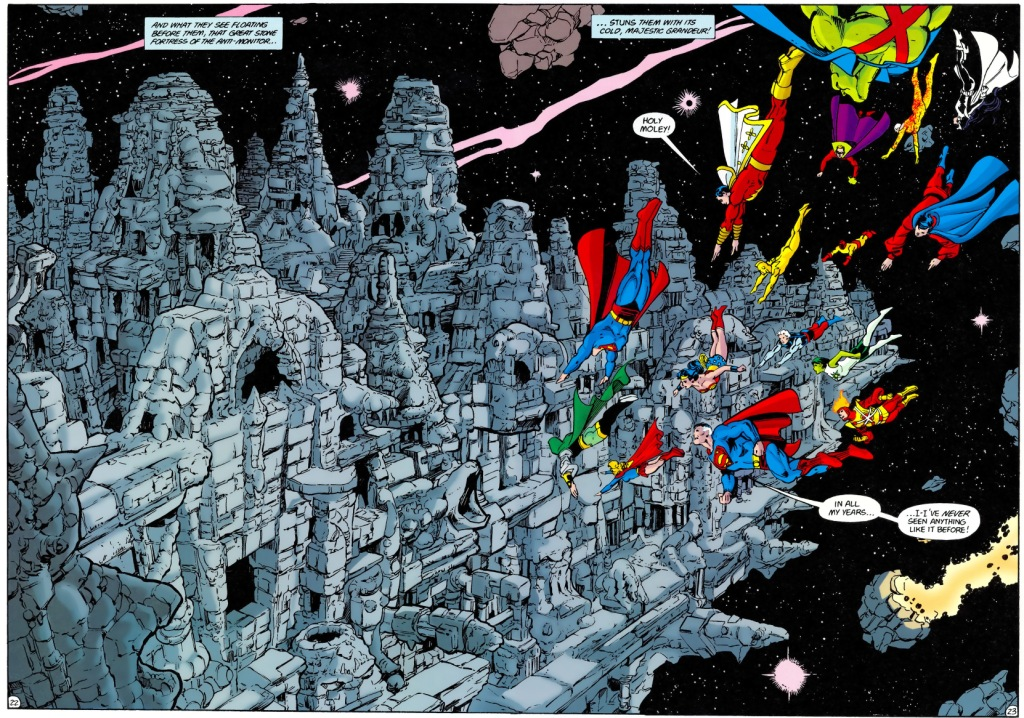 Crisis on Infinite Earths review