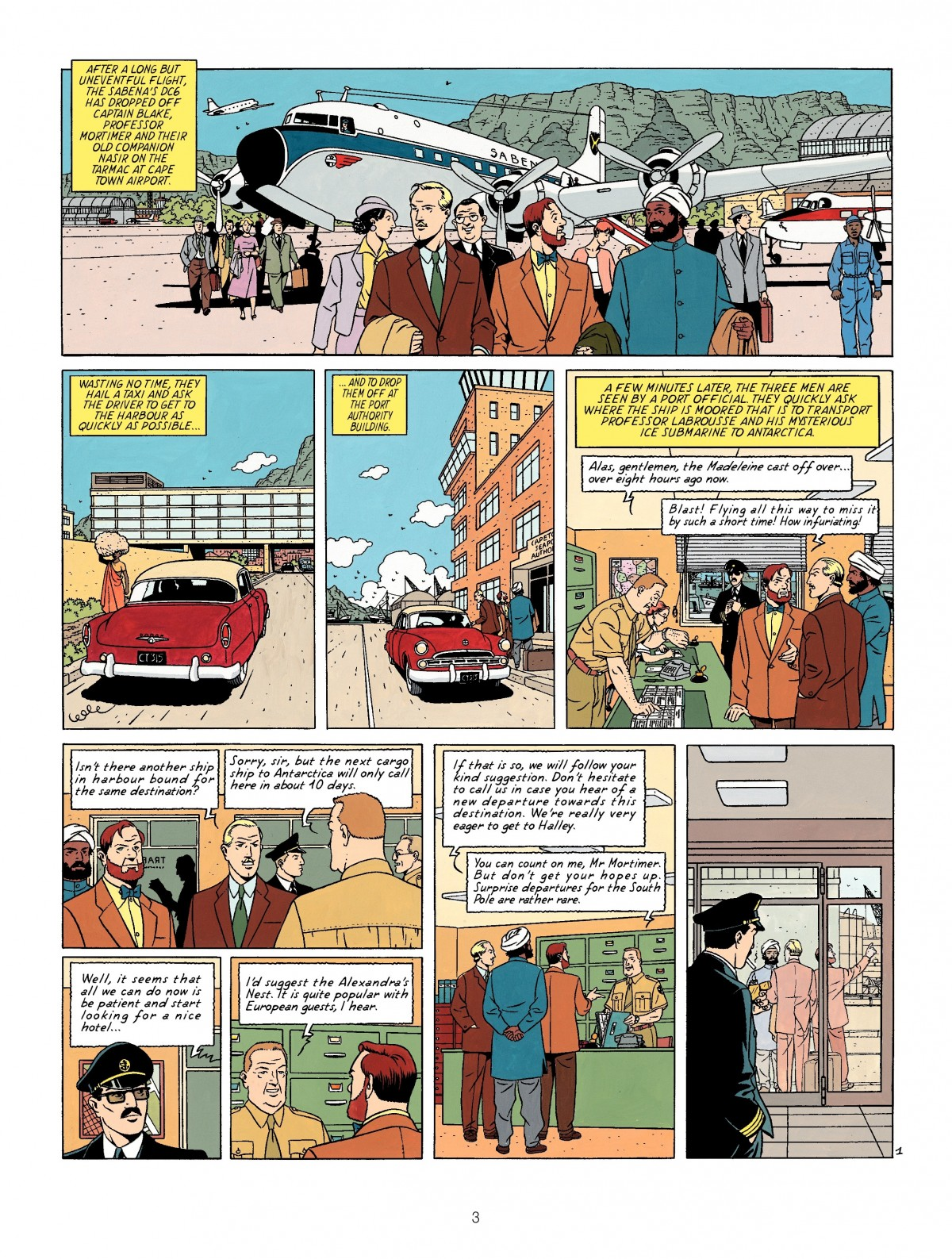 Blake and Mortimer The Sarcophogi of the Sxith Continent review