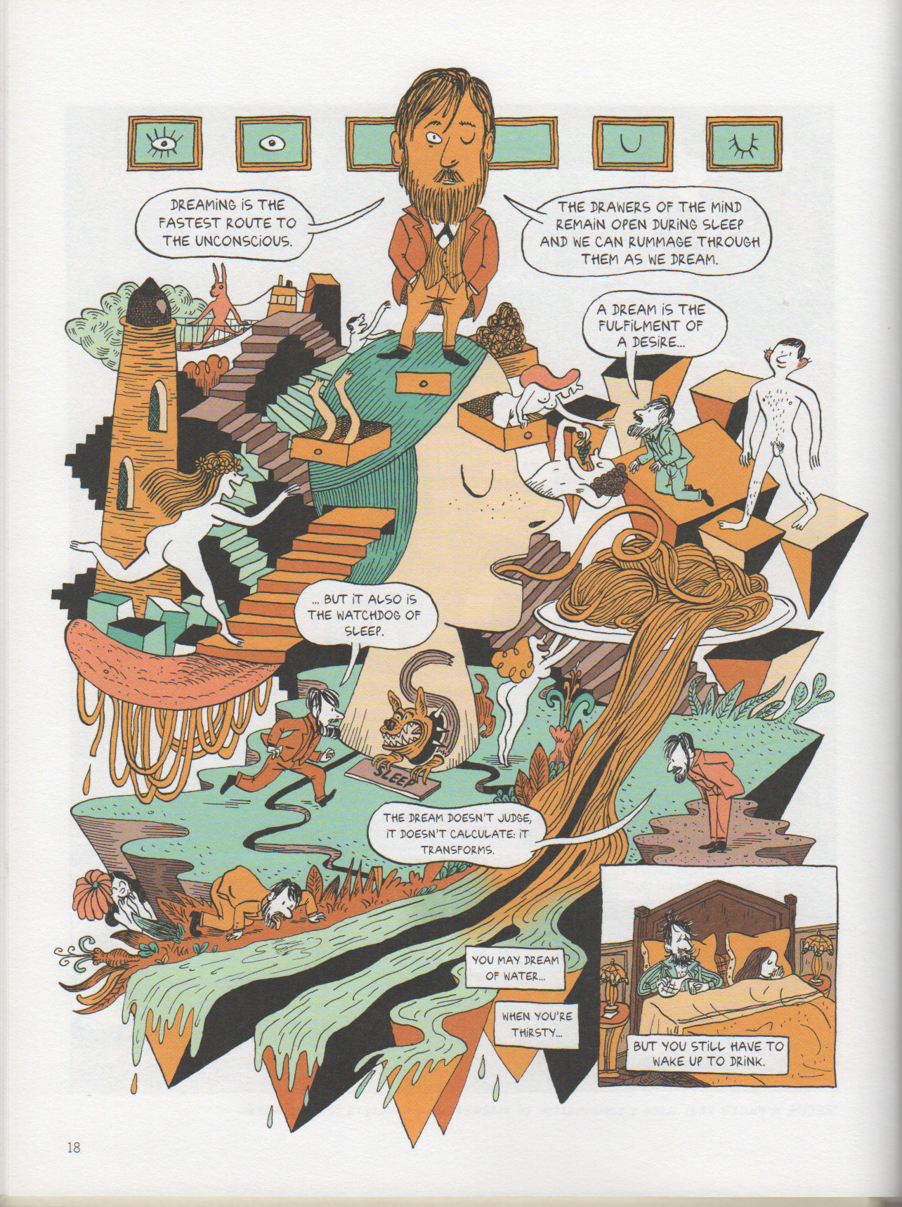 Freud graphic novel review