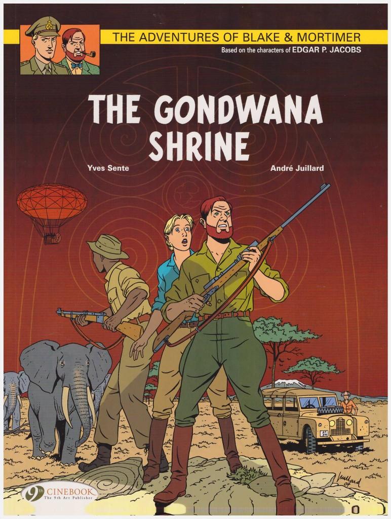 The Adventures of Blake & Mortimer: The Gondwana Shrine