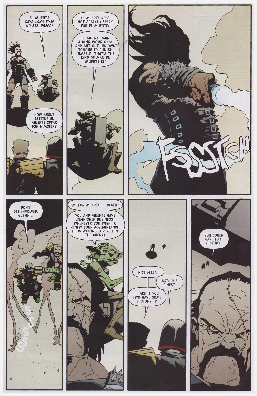 Judge Dredd Satan's Island review
