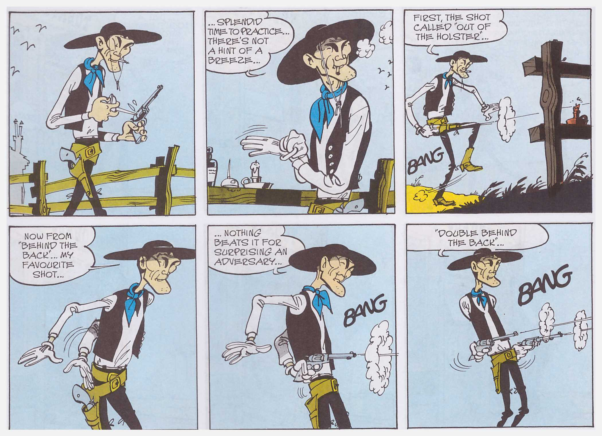 Lucky Luke Phil Wire review