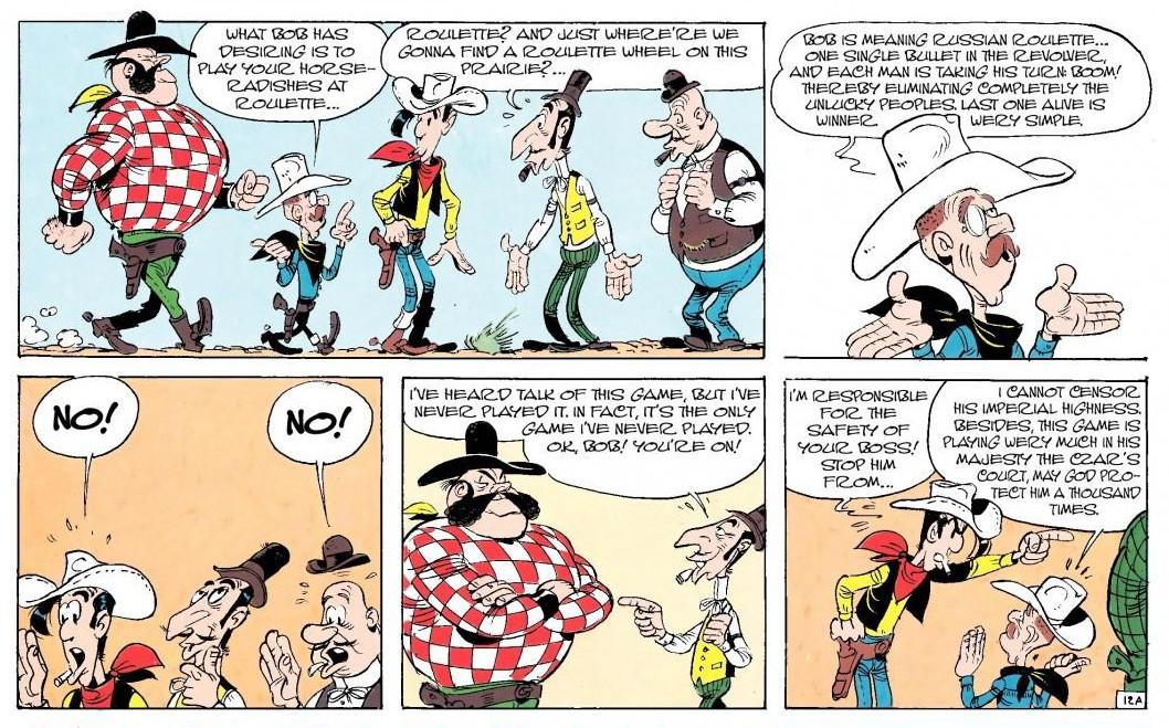 Lucky Luke Comic Book Collection