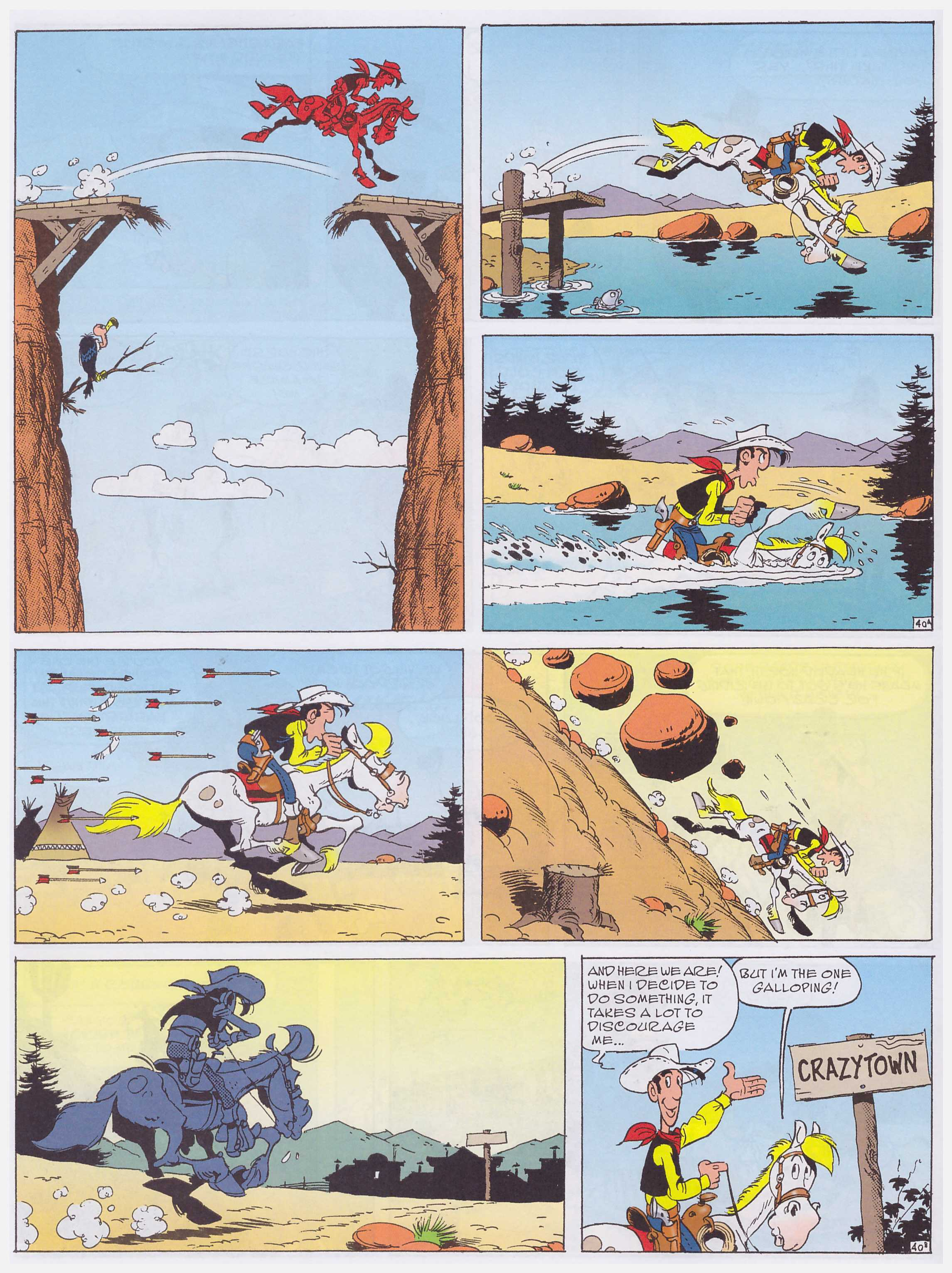 Lucky Luke The Painter review