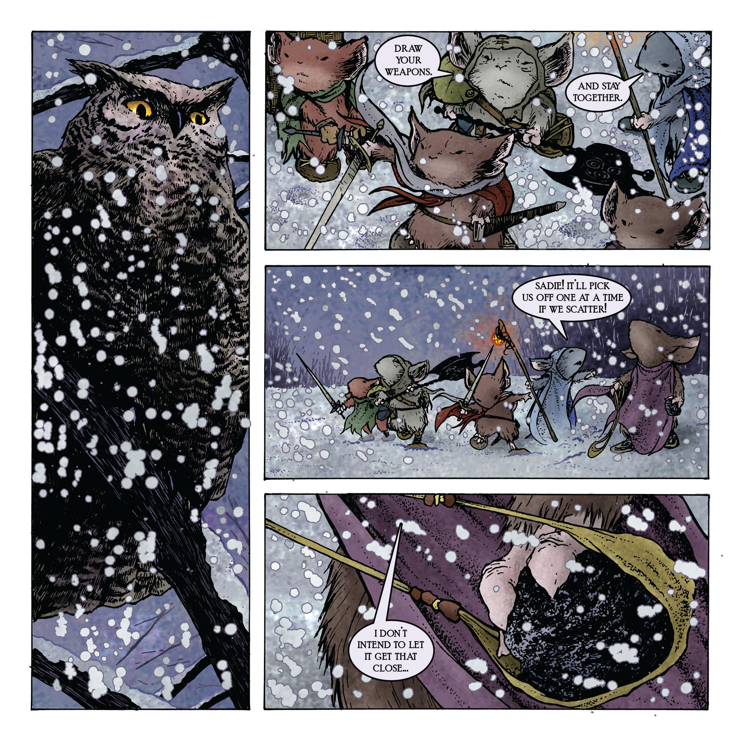 Mouse Guard Winter 1152 review