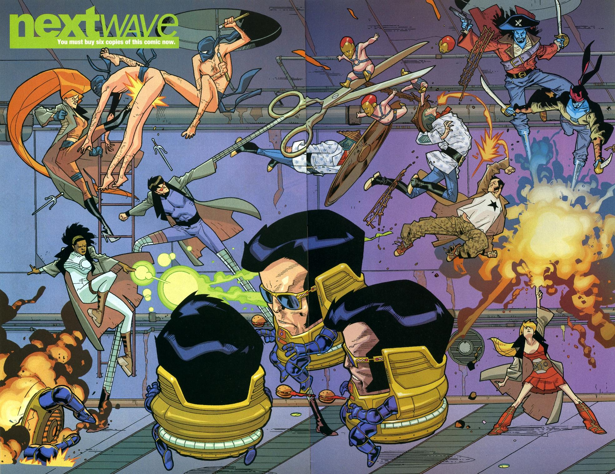 Nextwave Agents of H.A.T.E Complete Collection review