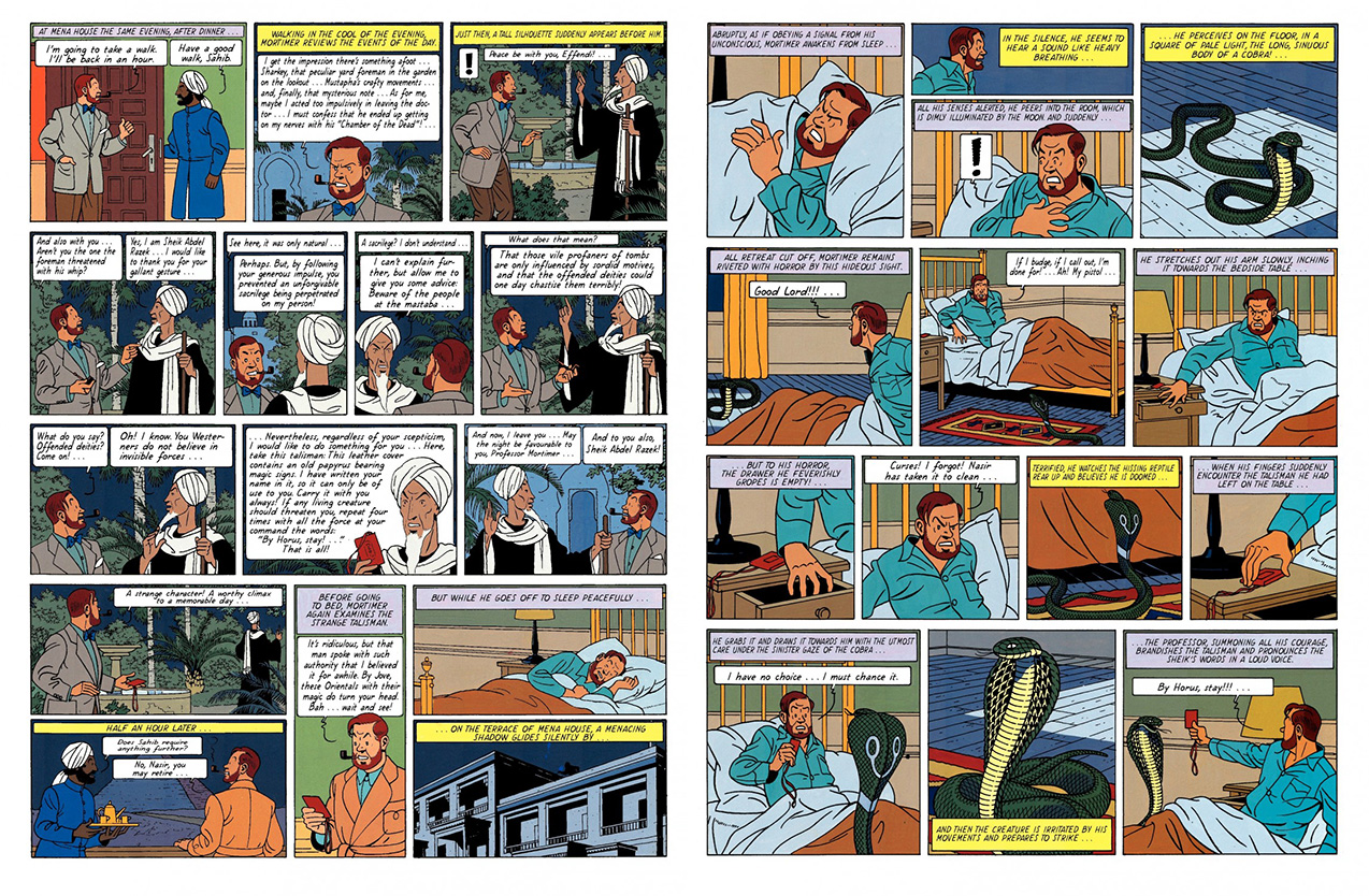 Blake and Mortimer The Mystery of the Great Pyramid Pt 2 review