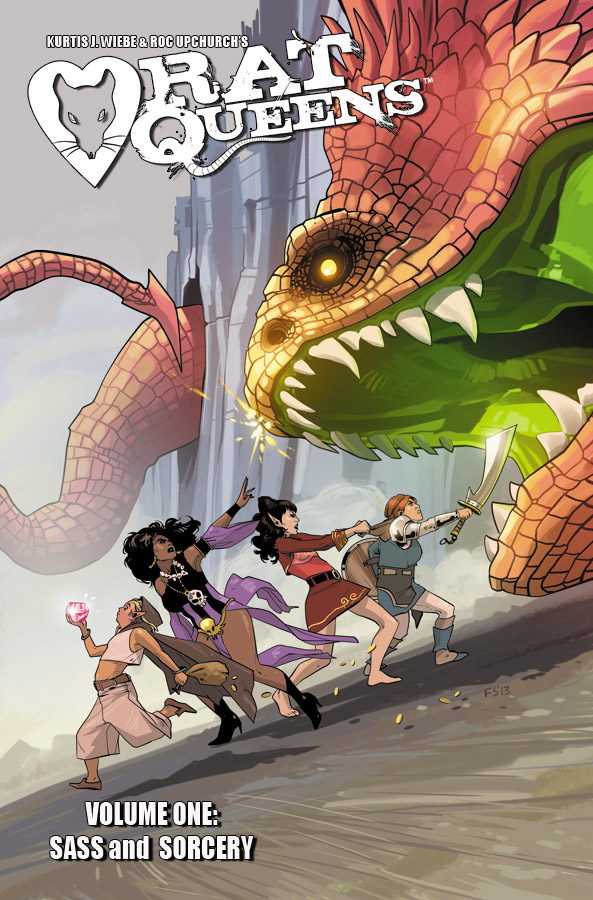 Rat Queens: Sass and Sorcery