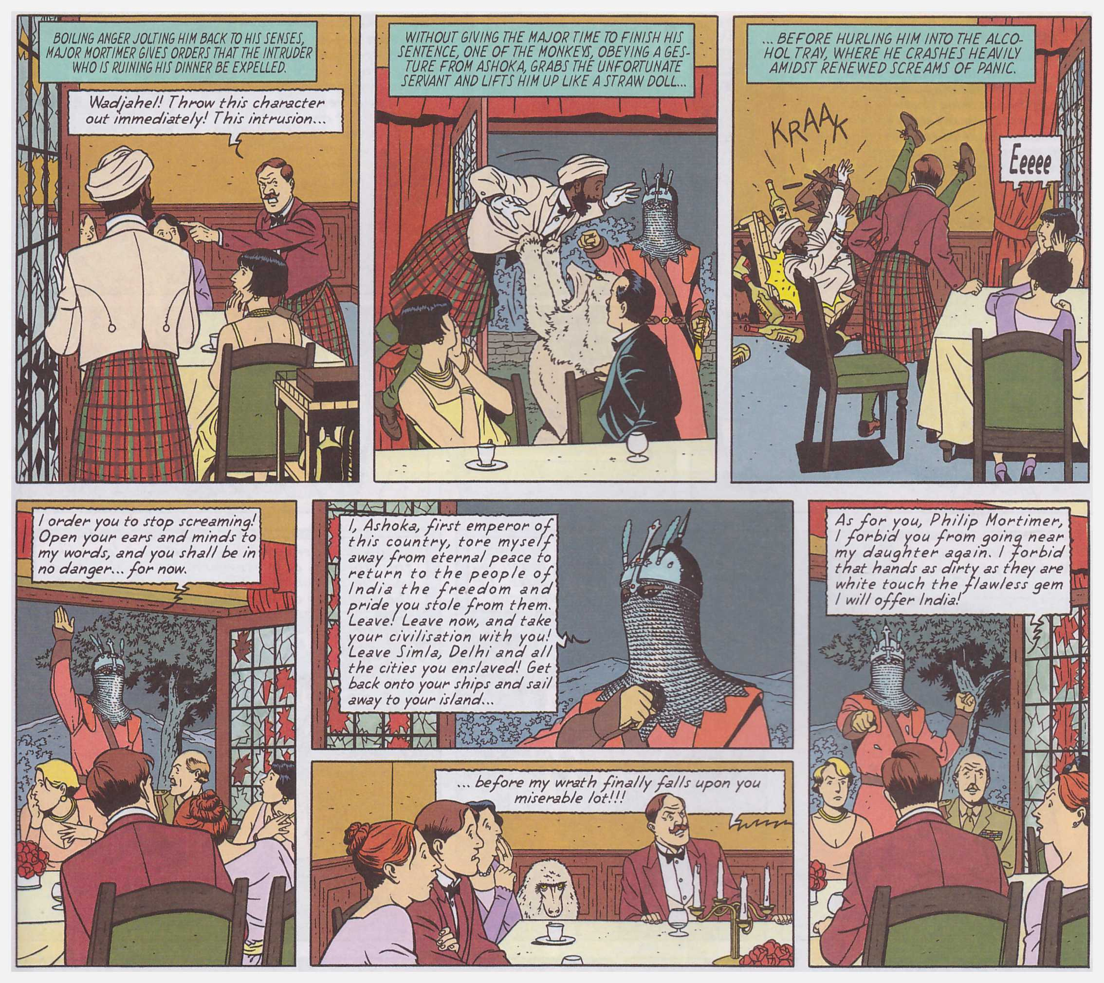 Blake and Mortimer The Sarcophogi of the Sixth Continent review