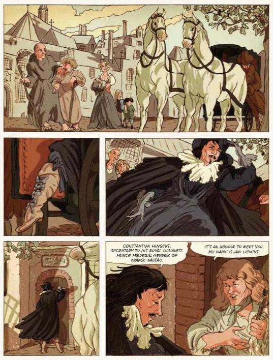 Rembrandt graphic novel review