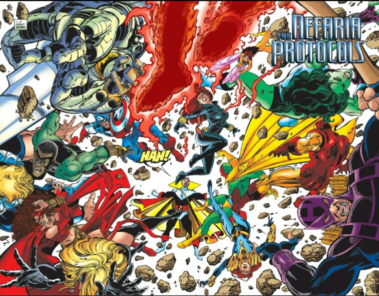 The Avengers by Kurt Busiek and George Perez Omnibus volume 2 review