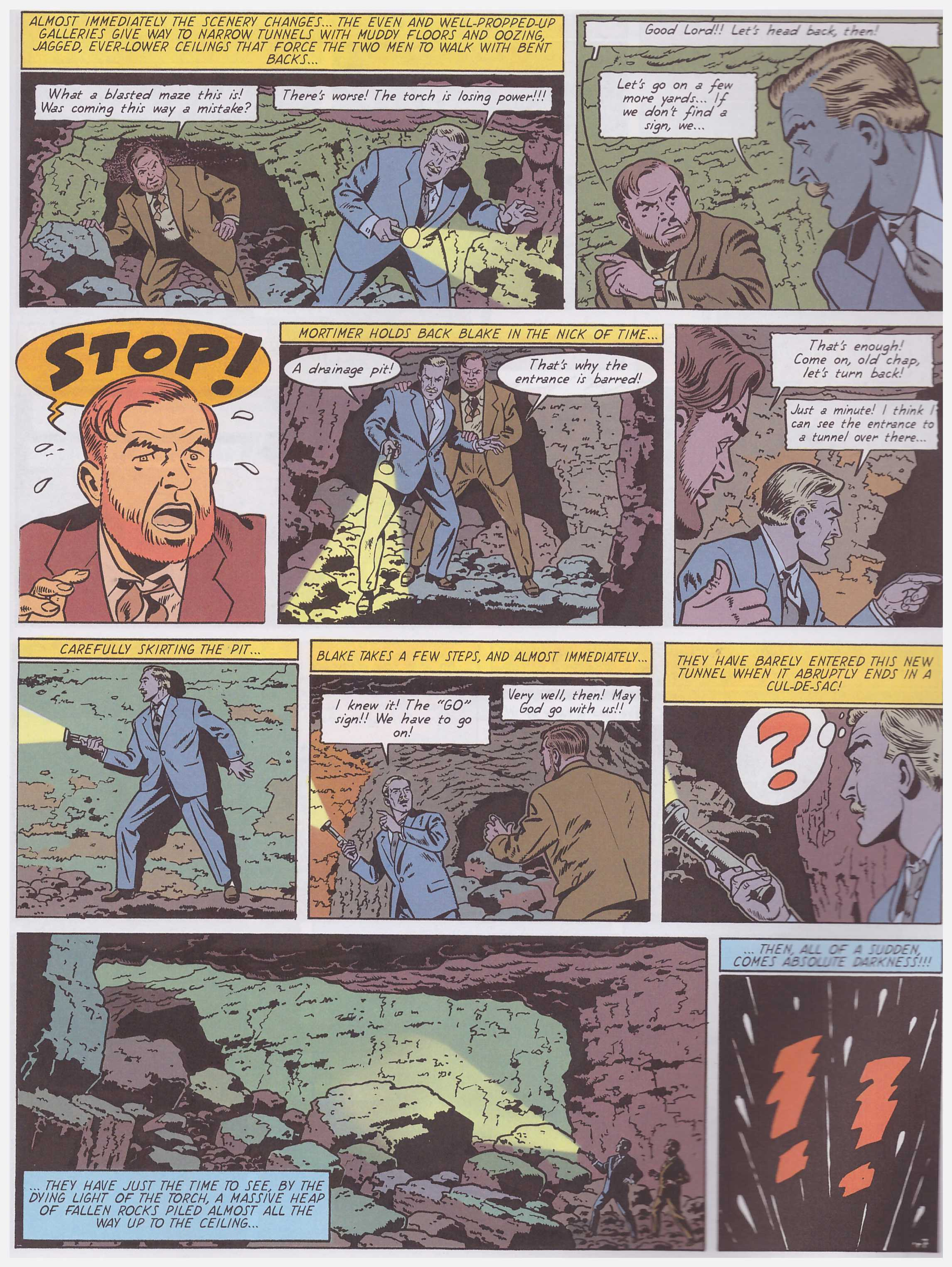 Blake and Mortimer The Affair of the Necklace review
