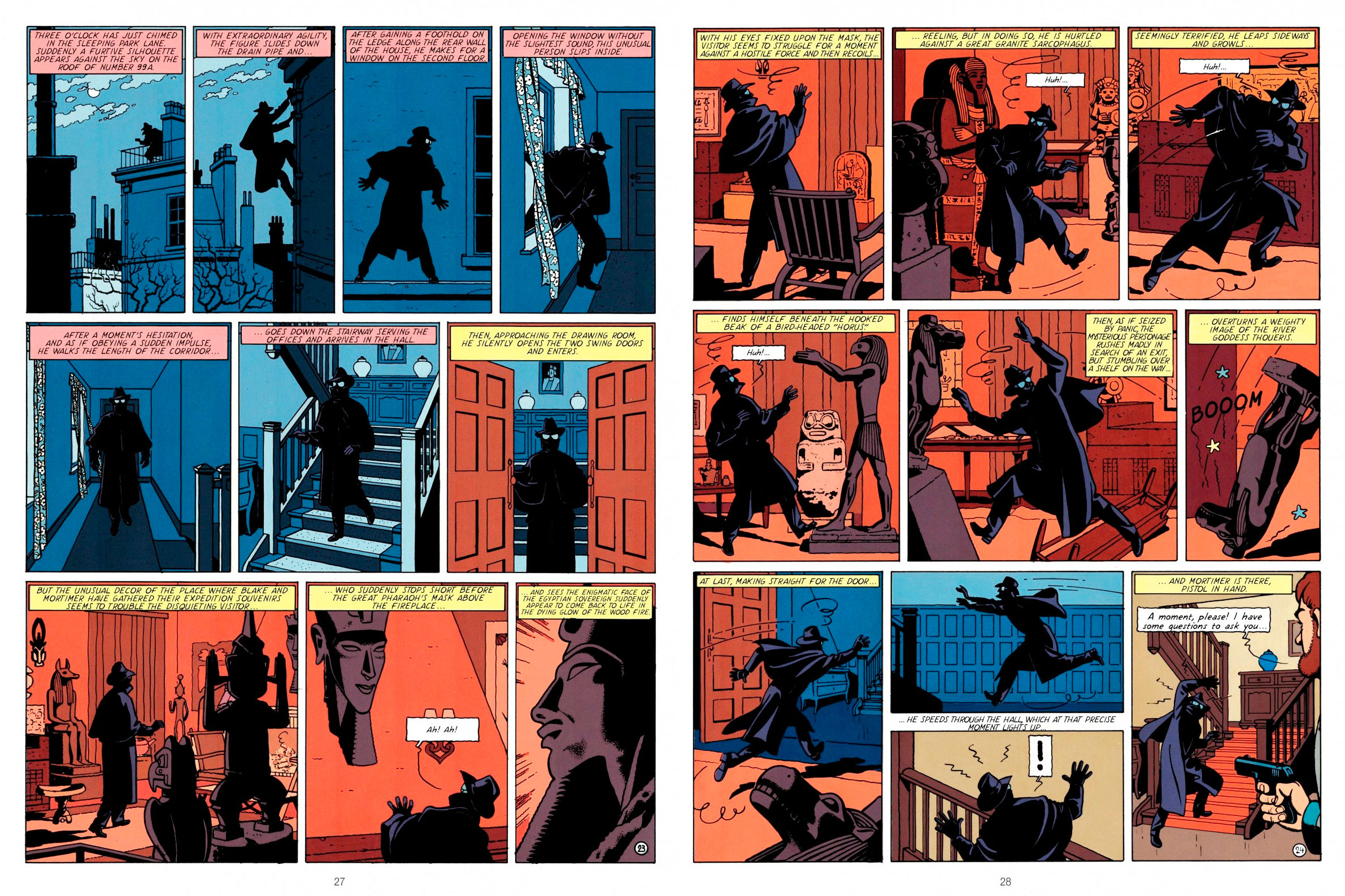Blake and Mortimer The Yellow M review