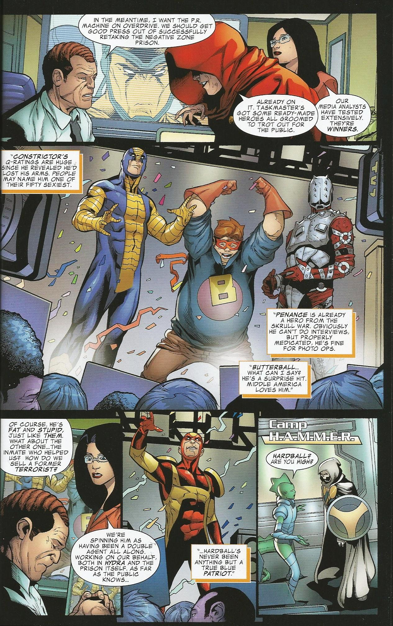 Avengers the Initiative Dreams & Nightmares review
