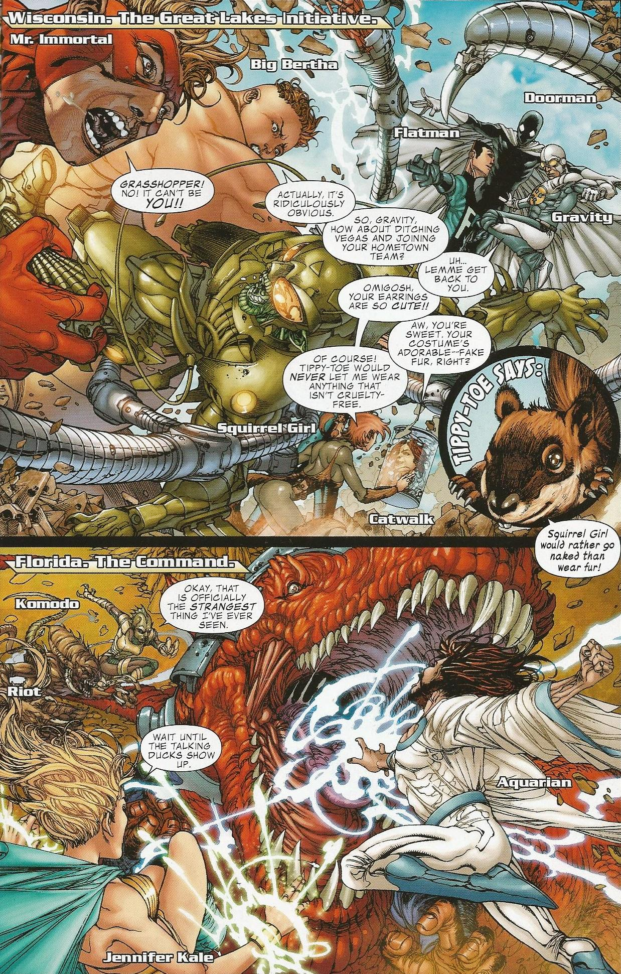 Avengers the Initiative Secret Invasion review