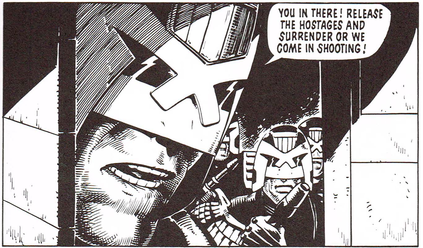 Judge Dredd 21 Titan review