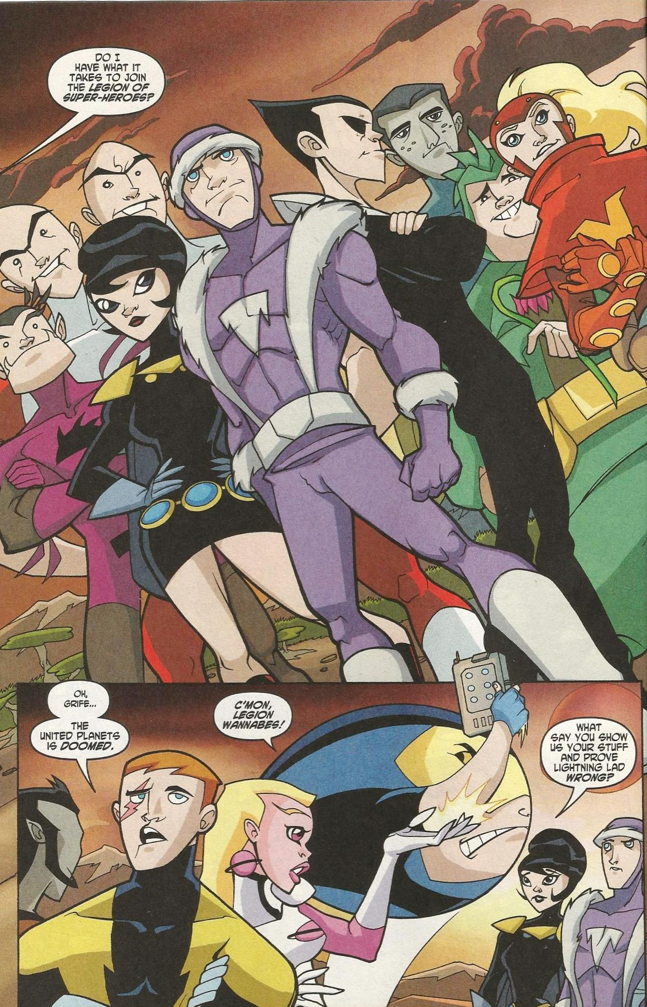 Legion of Super-Heroes in the 31st Century review