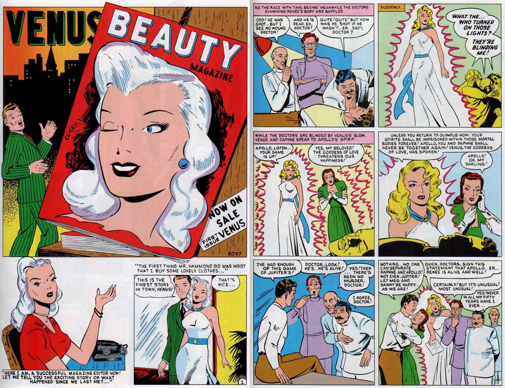 Marvel Masterworks Atlas Era Venus V1 review