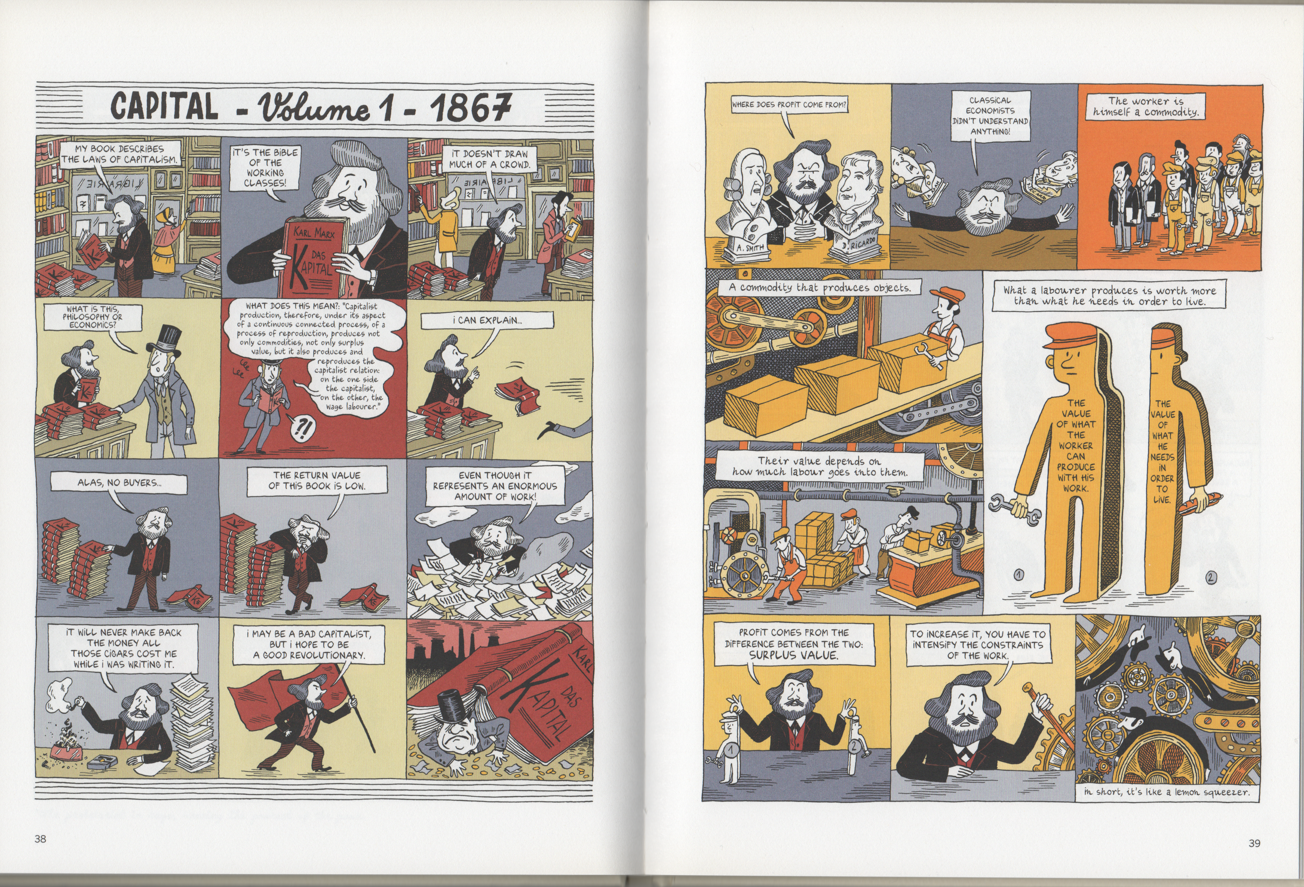 Marx graphic novel review