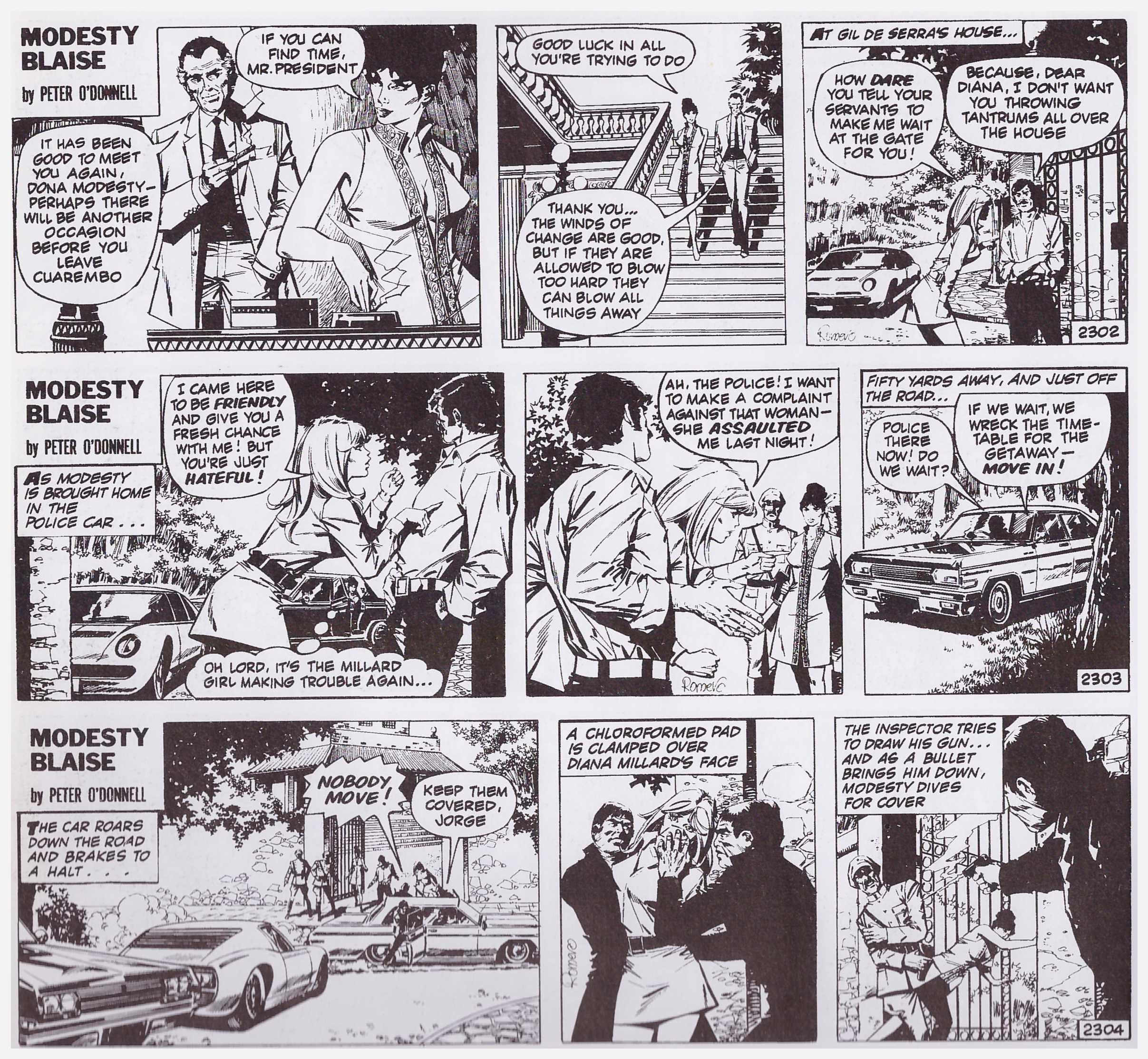 Modesty Blaise The Green Eyed Monster review